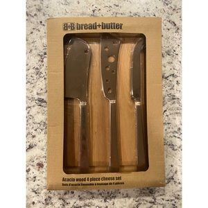 Bread and butter 4-piece set